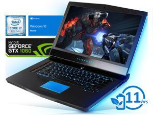 "Alienware 15 R4 Notebook, 15.6"" FHD Display, Intel Core i7-8750H Upto 4.1GHz, 32GB RAM, 1TB NVMe SSD+1TB HDD, NVIDIA GeForce GTX 1060, HDMI, Mini DisplayPort, ThunderBolt, Wi-Fi, BT, Windows 10 Home"