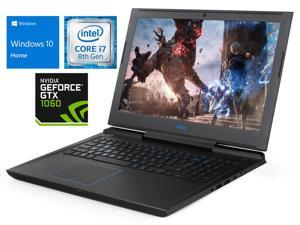 "Dell G7 Notebook, 15.6"" FHD Display, Intel Core i7-8750H Upto 4.1GHz, 32GB RAM, 1TB SSD + 1TB HDD, NVIDIA GeForce GTX 1060, HDMI, Thunderbolt, Card Reader, Wi-Fi, Bluetooth, Windows 10 Home"