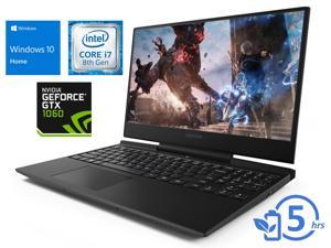 "Lenovo Legion Y7000P Notebook, 15.6"" FHD Display, Intel Core i7-8750H Upto 4.1GHz, 32GB RAM, 512GB NVMe SSD +1TB HDD, NVIDIA GeForce GTX 1060, HDMI, Mini DisplayPort, Wi-Fi, Bluetooth, Windows 10 Home"