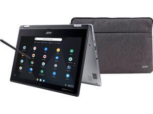 "Acer Chromebook Spin 11 Convertible Laptop, Intel Celeron N3350, 11.6"" HD Touch Display, 4GB DDR4, 32GB eMMC, 802.11ac WiFi, Wacom EMR Pen, Sleeve"