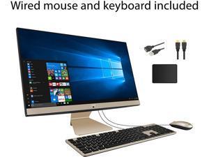 "ASUS 23.8""  FHD Anti-Glare Display AIO Desktop PC| AMD Ryzen 3 3250U| AMD Radeon Graphics| 16GB DDR4 RAM| 256GB SSD| Windows 10 Home| Bundle with Woov Accessory"