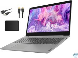 "New Lenovo IdeaPad 3 15.6"" HD Touchscreen Premium Laptop | 10th Gen Intel Quad-Core i5-1035G1 | 20GB RAM | 1TB SSD | Windows 10 Home | Gray | with Woov Accessory Bundle"