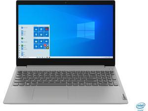 "New Lenovo IdeaPad 3 15.6"" HD Touchscreen Premium Laptop | 10th Gen Intel Quad-Core i5-1035G1 | 12GB RAM | 256GB SSD | Windows 10 Home | Gray"