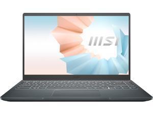 "New MSI Modern 14"" FHD Laptop   Intel  i3-10110U   8GB RAM   512GB SSD   Backlit Keyboard   Windows 10"