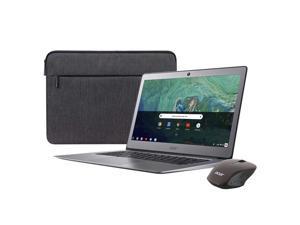 "2019 Newest Acer Premium Flagship 14"" Full HD Chromebook Bonus Wireless Mouse&Sleeve | Intel Celeron N3160 Processor |4GB RAM| 32GB eMMC Storage |HDMI| Webcam |Bluetooth | Chrome OS| Steel Gray"