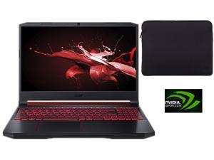 "Newest Acer Nitro 5 15.6"" FHD IPS Gaming Laptop  9th Gen Intel Quad Core i5-9300H  12GB DDR4 256G PCI-e SSD   Nvidia Geforse GTX1050 GDDR5   Backlit Keyboard   Window 10  Include Sleeve"