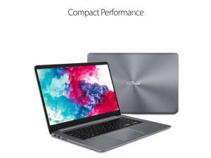 """Newest Asus VivoBook Thin & Lightweight Laptop (4G DDR4/128G SSD) 15.6"""" Full HD(1920x1080) WideView display  AMD Quad Core A12-9720P Processor  Wi-Fi AC Fingerprint Reader HDMI  Windows 10 in S Mode"""