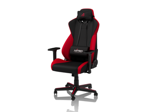 Nitro Concepts S300 Inferno Red Ergonomic Office Gaming Chair