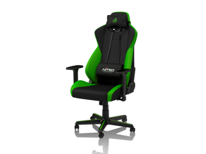 Nitro Concepts S300 Atomic Green Ergonomic Office Gaming Chair