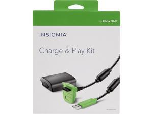 Insignia Charge & Play Kit for Xbox 360