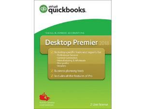 QuickBooks Desktop Premier 2018 2-User