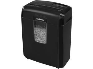 Fellowes Powershred 8C 8-Sheet Cross-Cut Shredder, Black