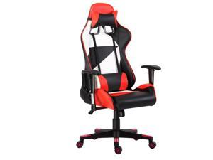 ViscoLogic LIBERTY Gaming Chair Racing Entertainment Video Game Chair Ergonomic Backrest and Seat Height Adjustment Computer Chair with Pillows Recliner Swivel Rocker Headrest and Lumbar Tilt E-Sports