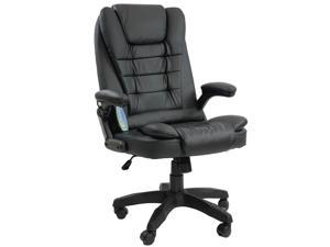 ViscoLogic Urban X Ergonomic High Back In-Built Massage Reclining Home Office Executive Chair (Black)