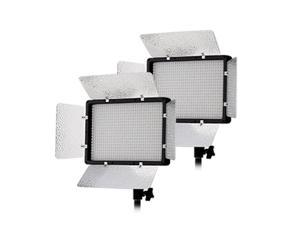 Tolifo PT-680S/B 2 Light Kit Daylight 5600K LED Portable Light for Outdoor Movie Video Film Shooting with Remote Control