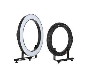 FalconEyes DVR-160TVC 3000-5600K Dimmable Ring LED Video Light Continuous Output Lighting