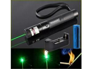 Blue Purple Laser Pointer Pen Adjustable Focus 200Mile Visible Beam Lazer HOT EN