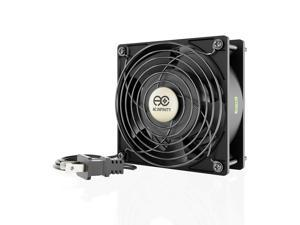 """120mm 38mm Cooling Muffin Axial Fan Low-Speed 115V 120V AC 5"""" (LS1238A-X)"""