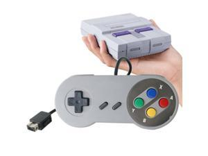 1x Wired Controller Gamepad Joystick For Super SNES NES Classic Mini Edition