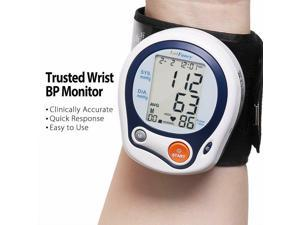 Automatic Wrist Blood Pressure Monitor BP Cuff Gauge Machine Tester System Kit