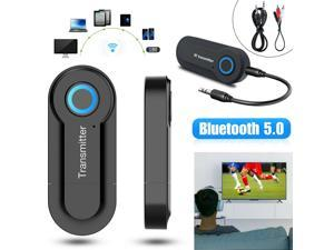 Wireless Bluetooth 5.0 Transmitter A2DP Audio RCA to 3.5mm AUX + USB Adapter HUB