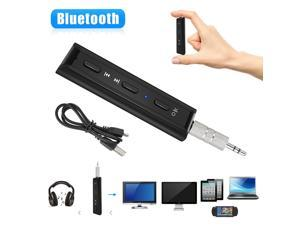 Wireless Bluetooth Receiver 3.5mm AUX Audio Stereo Music Hands Free Car Adapter