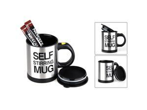Self Stirring Mug Auto Mixer Drink Tea Soup Home Insulated Coffee Cup Stainless