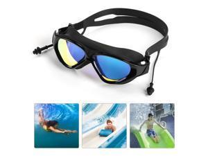 Mirror Swimming Goggles Anti-Fog Swim Glasses UV Protection For Men Women Kids