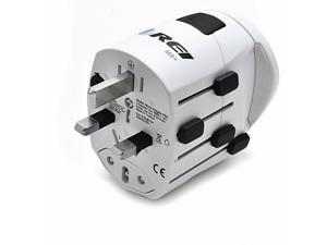 OREI M8 plus Worldwide All-in-One Travel Plug Adapter w/ USB Charger Port