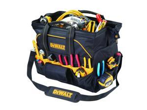 "DeWalt DG5553 - 42 Pocket 18"" Pro Contractor's Closed Top Tool Bag Box Carrier"