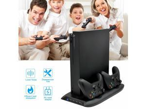 Vertical Cooling Stand Controller Charging Dock Station Fan USB For Xbox One X