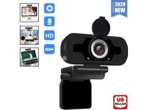 1080P Full HD USB Webcam for PC Desktop & Laptop Web Camera with Microphone Full HD