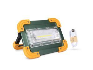 Ultra Bright COB LED Work Light 100000LM Rechargeable Emergency Flood Lamp Stand