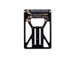 Desktop M.2 NGFF SSD TO 2.5 SATA Mini PCIe SSD Adapter hard drive bracket Card