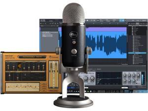 BLUE Yeti Pro Studio USB/iOS Microphone - with $100 in Software Black