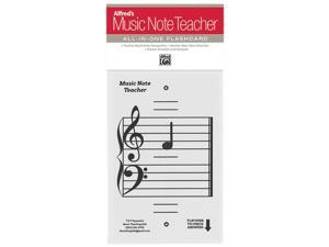 Alfred 99-MNT001 Alfreds Music Note Teacher - All-In-One Flashcard, White