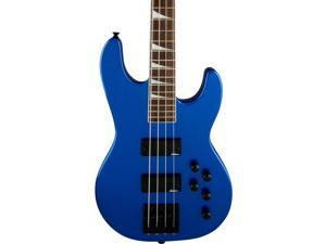 Jackson CBXNT IV Electric Bass Guitar Metallic Blue Rosewood Fingerboard