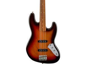 Fender Jaco Pastorius Fretless Jazz Bass Guitar 3-Color Sunburst