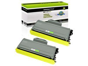GREENCYCLE 2 Pack Compatible Brother TN360 TN330 High Yield Black Toner Cartridge for DCP-7030/7040 HL-2140 MFC-7320/7340