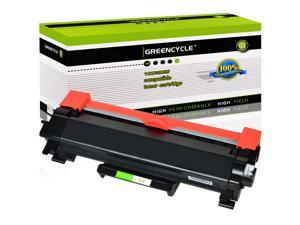 GREENCYCLE Compatible Toner Cartridge Replacement for Brother TN760 TN-760 TN730 TN-730 With Chip for Brother HL-L2350DW DCP-L2550DW HL-L2395DW Hl-L2390DW HL-L2370DW Printer (1 Black)