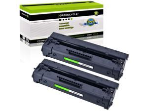 GREENCYCLE High-Yield C4092A 92A Toner Cartridge Replacement Compatible for HP Laserjet 1100 1100a 1100ase 1100axi 1100se 1100xi 3200 3200m 3200se Printer (Black, 2 Pack)