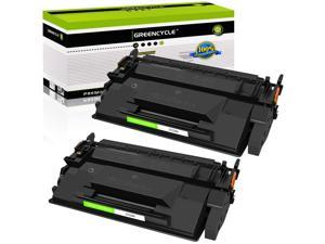 GREENCYCLE 2PK Compatible with HP CF226X 26X Black Toner Cartridge High Yield for LaserJet Pro MFP M426dw M402d Printer