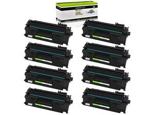 GREENCYCLE Compatible Toner Cartridge Replacement for HP 05A CE505A Toner for Laserjet P2035 P2035n P2050 P2055 P2055d P2055dn P2055x Pro 400 m401n m401dne m401dw M425dn M425dw Printer (8-Packs)
