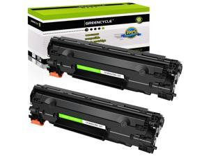 GREENCYCLE 2 Pack Replacement Black Toner Cartridge Compatible for Canon 137 CRG137 C137 9435B001 ImageClass MF212w MF216n MF227dw