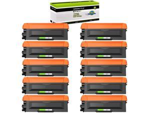 GREENCYCLE Compatible Toner Cartridge Replacement for Brother TN660 TN-660 TN630 Use for MFC-L2700DW HL-L2300D (Black, 10-Pack)