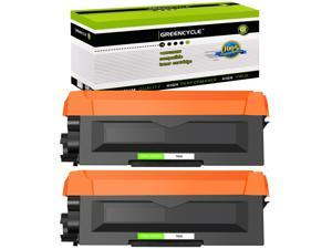 GREENCYCLE Compatible Toner Cartridge Replacement for Brother TN660 TN630 TN-660 TN-630 Work with HL-L2380DW HL-L2320D HL-L2300D HL-L2340DW MFC-L2700DW MFC-L2740DW DCP-L2540DW Printer (Black, 2 Pack)