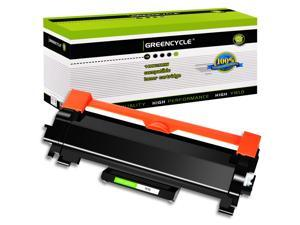 GREENCYCLE Compatible Toner Cartridge Replacement for Brother TN760 TN-760 TN730 Use for DCP-L2550DW HL-L2350DW (Black, 1-Pack)