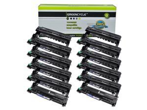 GREENCYCLE Drum Unit Compatible for Brother DR-630 DR630 use in HL-L2300D DCP-L2520DW MFC-L2680W Printer (Black, 10 Pack)