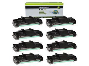GREENCYCLE Toner Cartridge Compatible for Samsung SCX4725 SCX-4725 SCX-D4725A use in SCX-4725N SCX-4725F Printer(Black, 8 Pack)