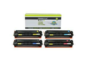 GREENCYCLE Toner Cartridge Compatible for HP 204A CF510A CF511A CF512A CF513A Laserjet Pro MFP M180 M154 Printer(BCYM,4 Pack)